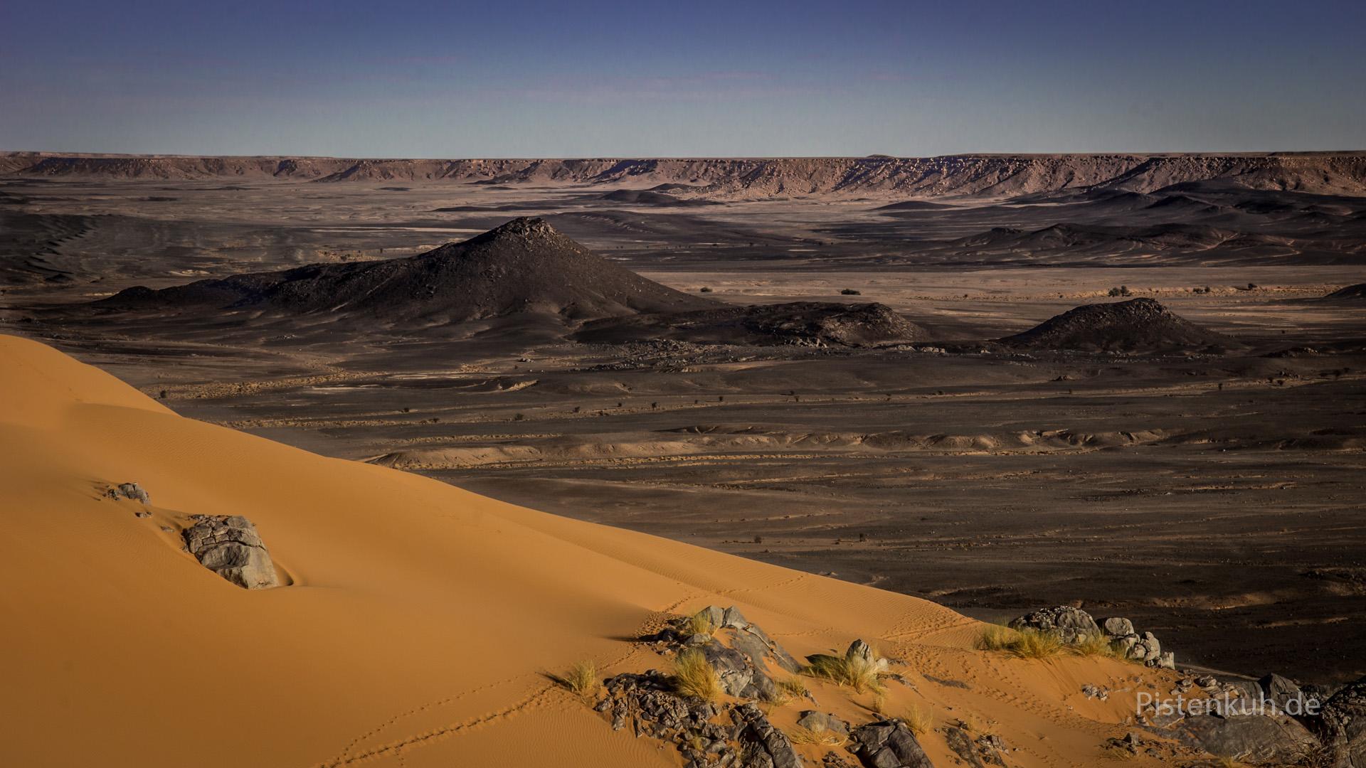 Blick vom Jebel Baggar