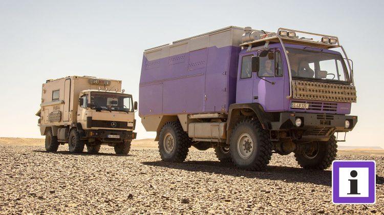 Marokko Steinwüste Offroad