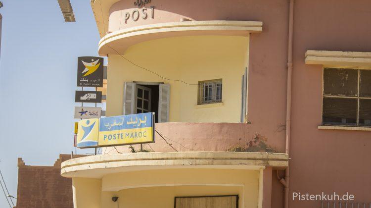 Postgebäude in Marokko