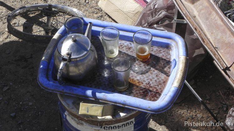 Tee auf dem Markt