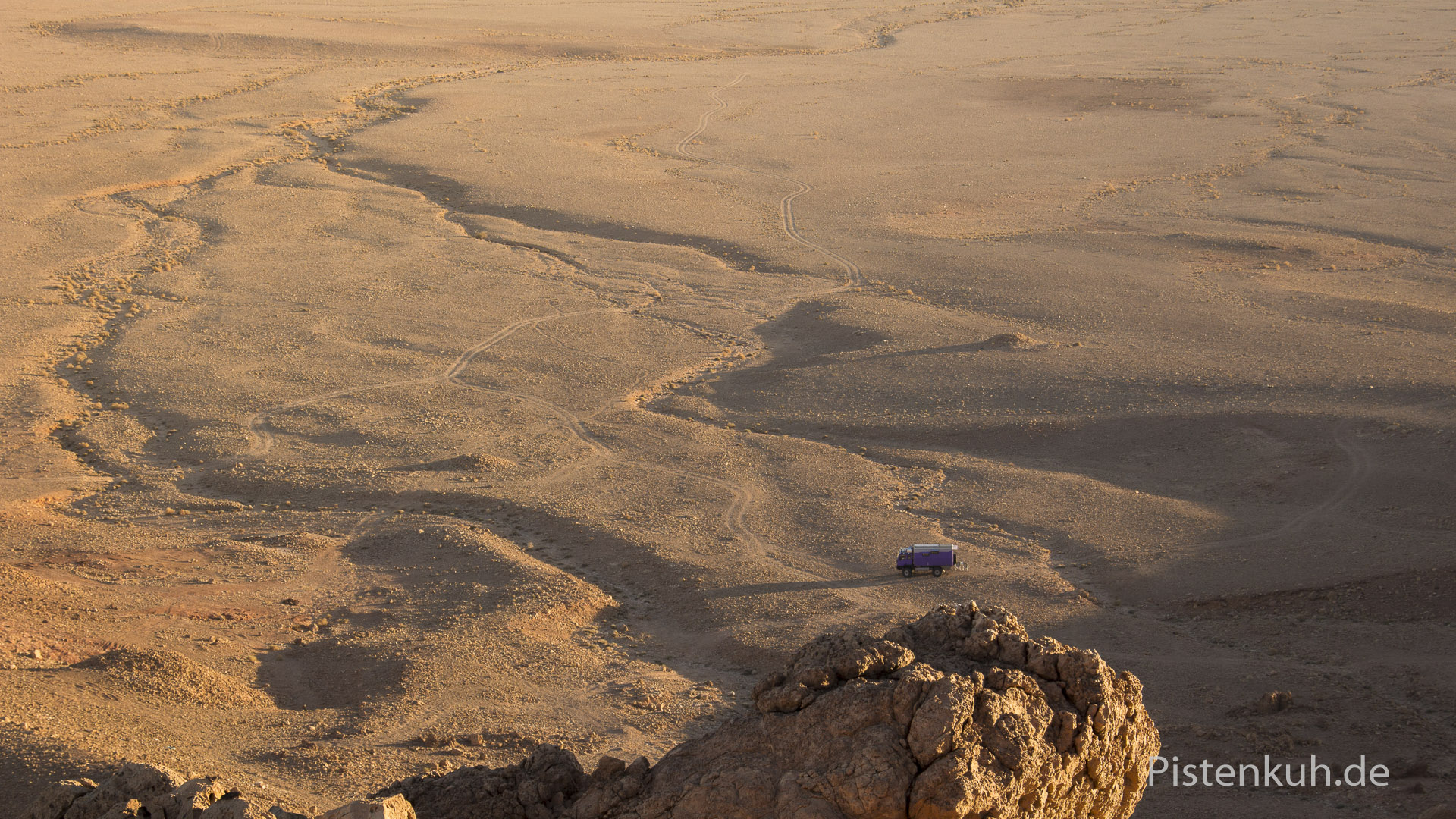 Ruhe in der Wüste