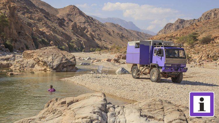 Oman Wadi Allrad