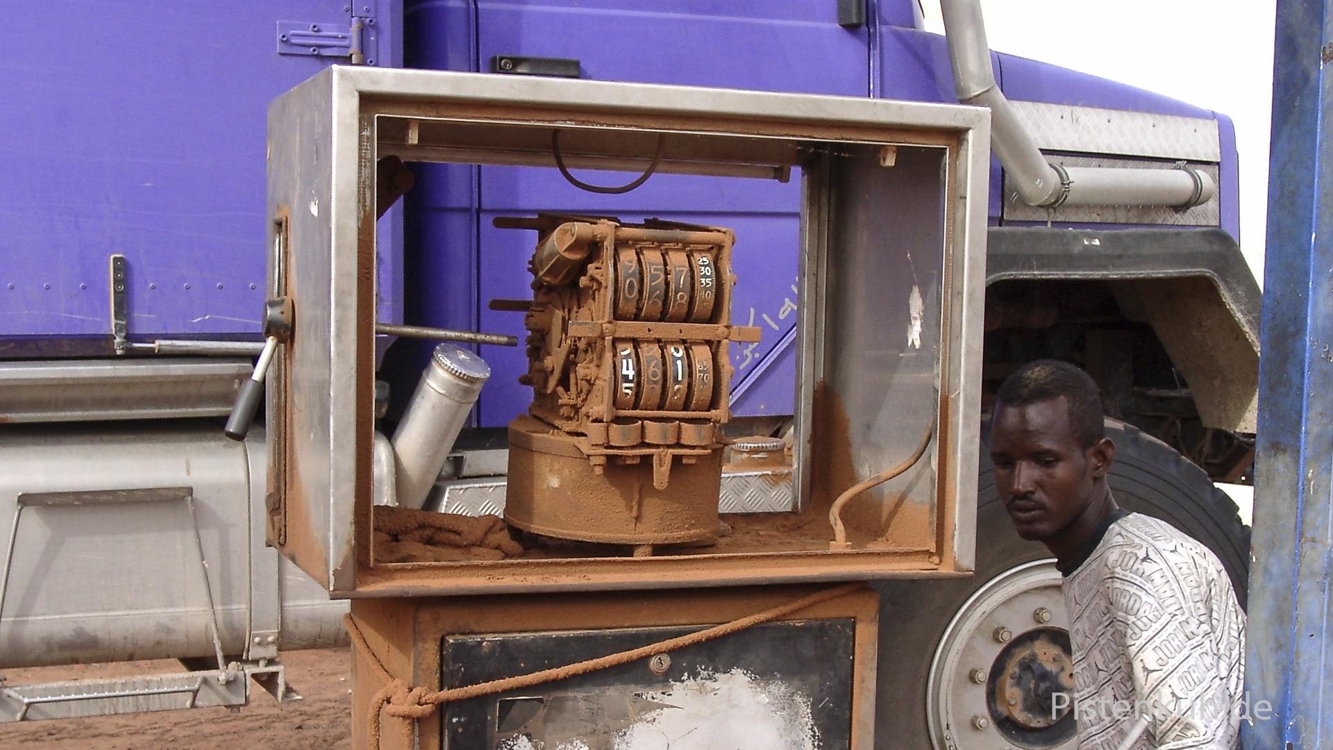 Tankstelle Afrika
