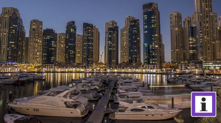 V.A.Emirate Dubai Marina