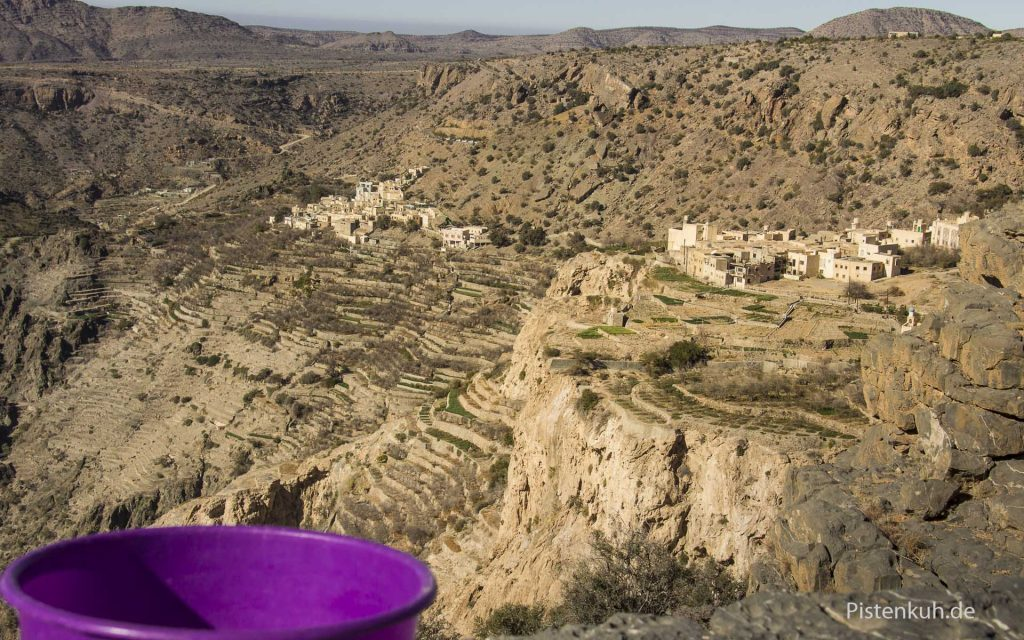 Von Dirk auf in Oman