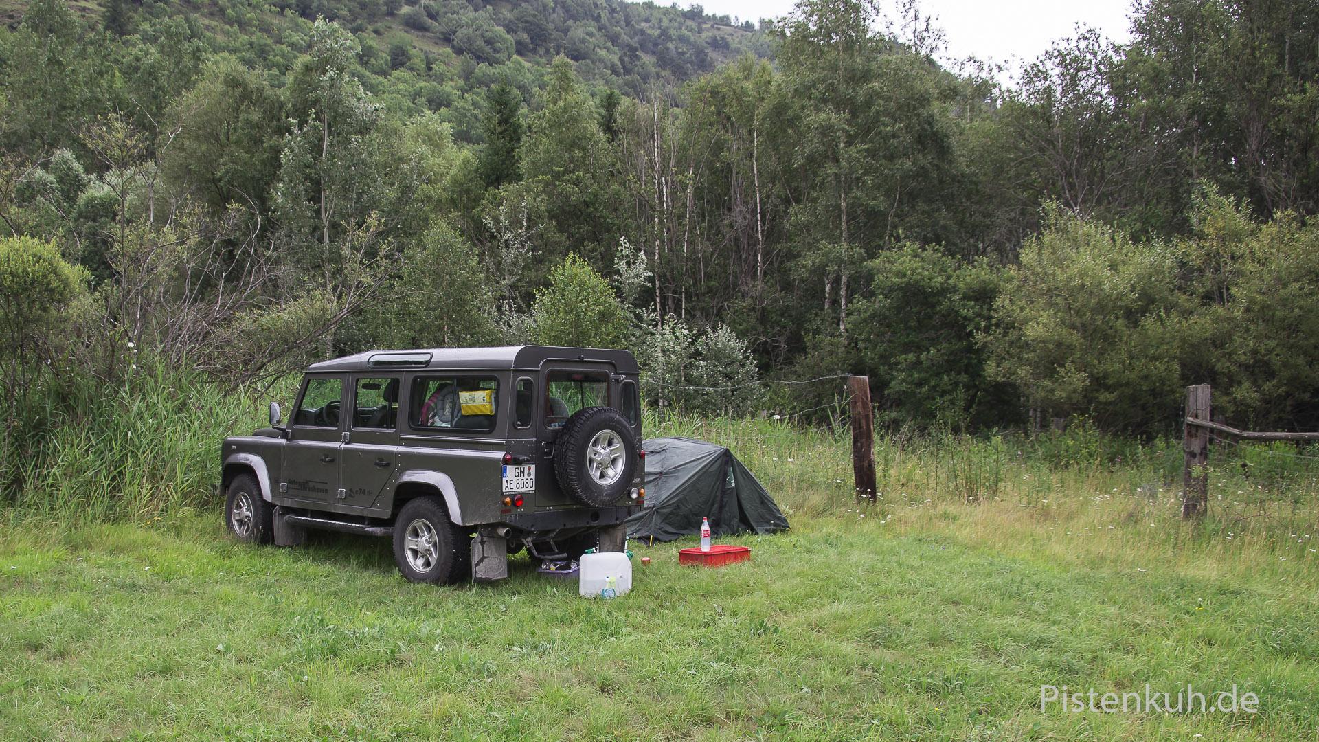freies campen
