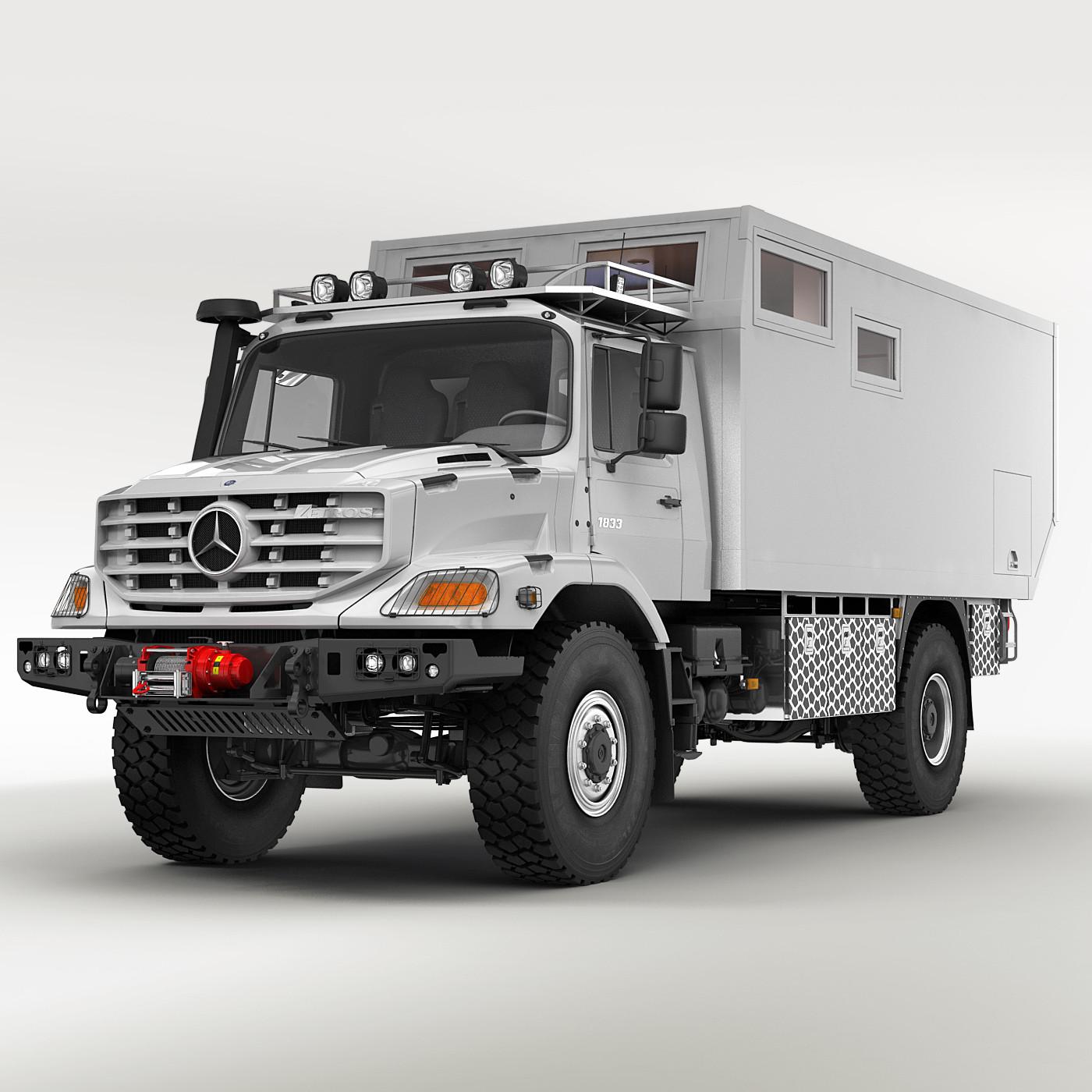 Mercedes Zetros X Camping Car