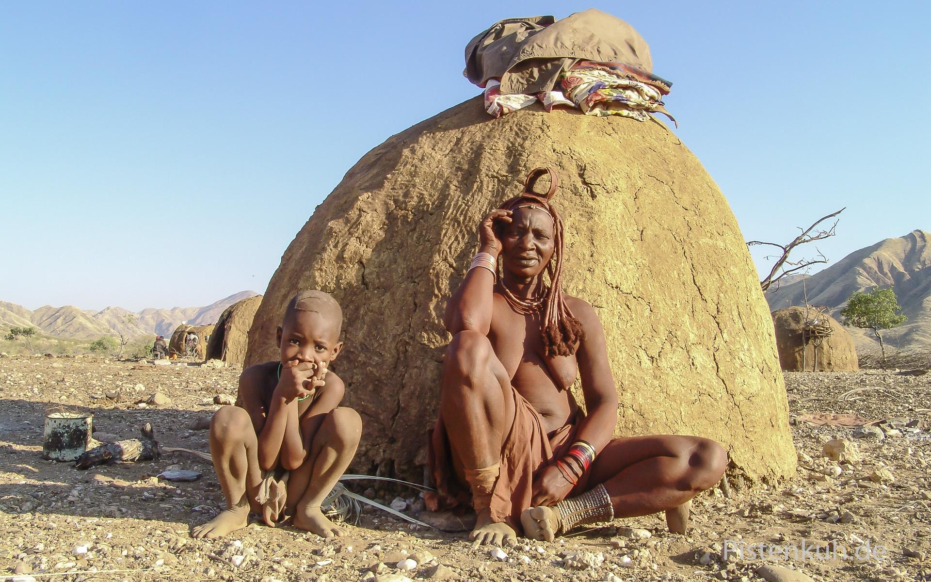Behausung der Himba