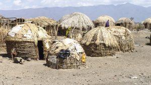 Hütten am Lake Turkana