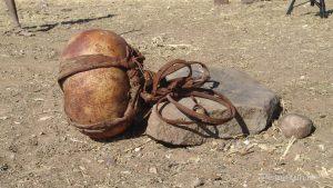 Wassersack aus Kalabasse