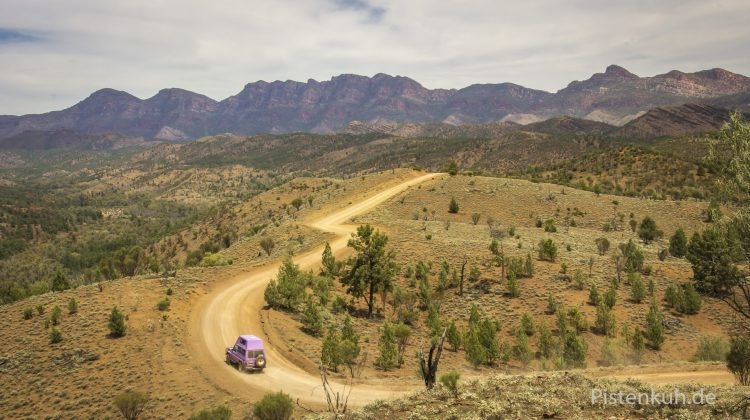 Offroad in Australien - Flinders Ranges