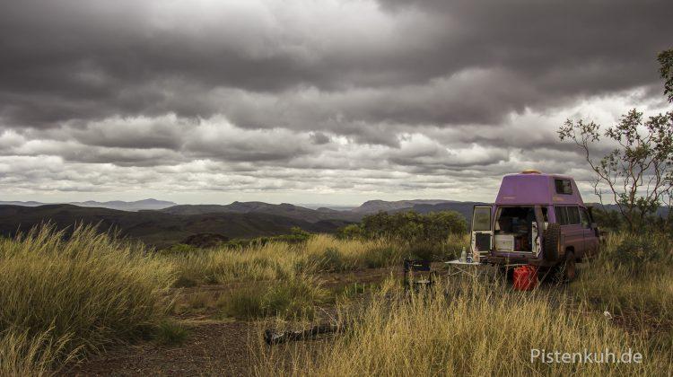 Australien Offroad Lookout Mont Shaila