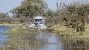 Unterwegs im Okawango-Delta