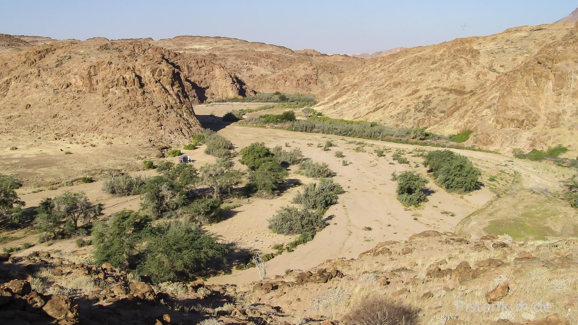 Unberührte Landschaft im Ugab-Valley