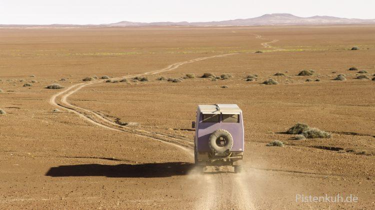 Piste in Namibia