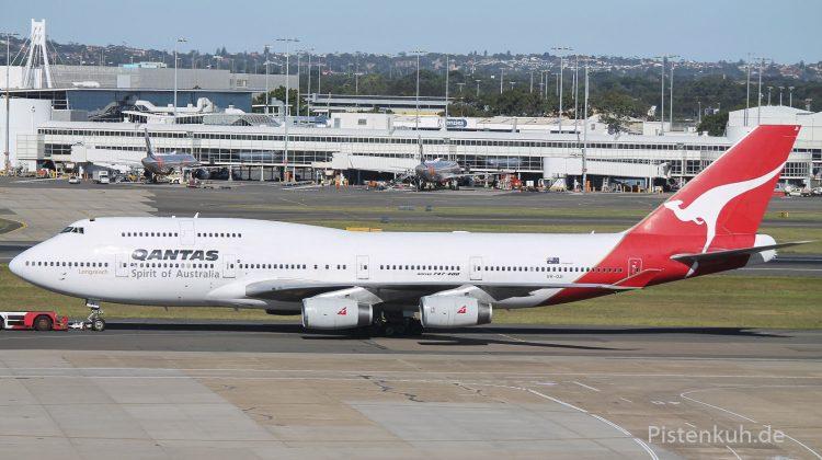 Quantas Boing 747