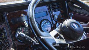 Cockpit eines Trucks