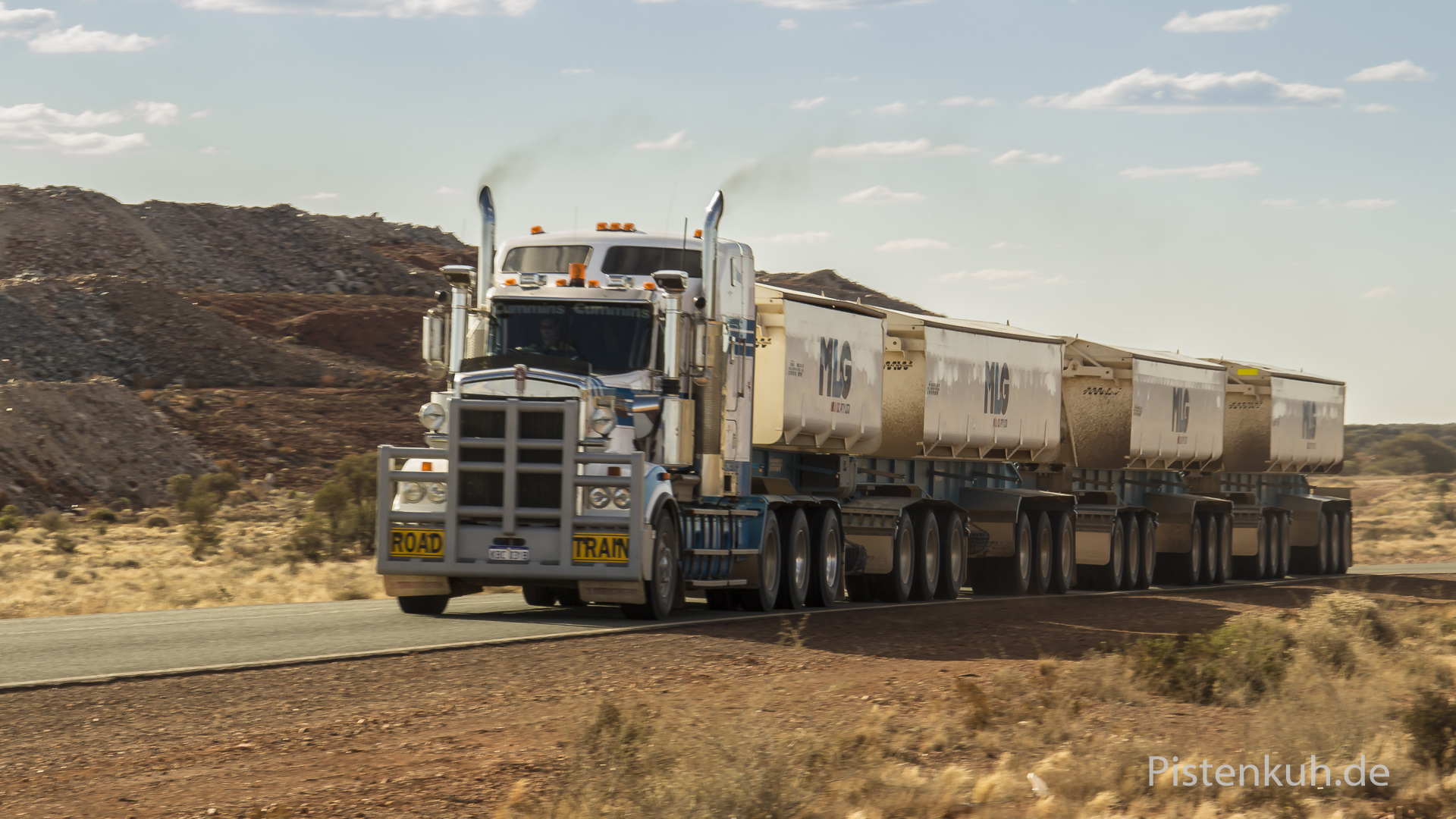 Road Train in Western-Australia