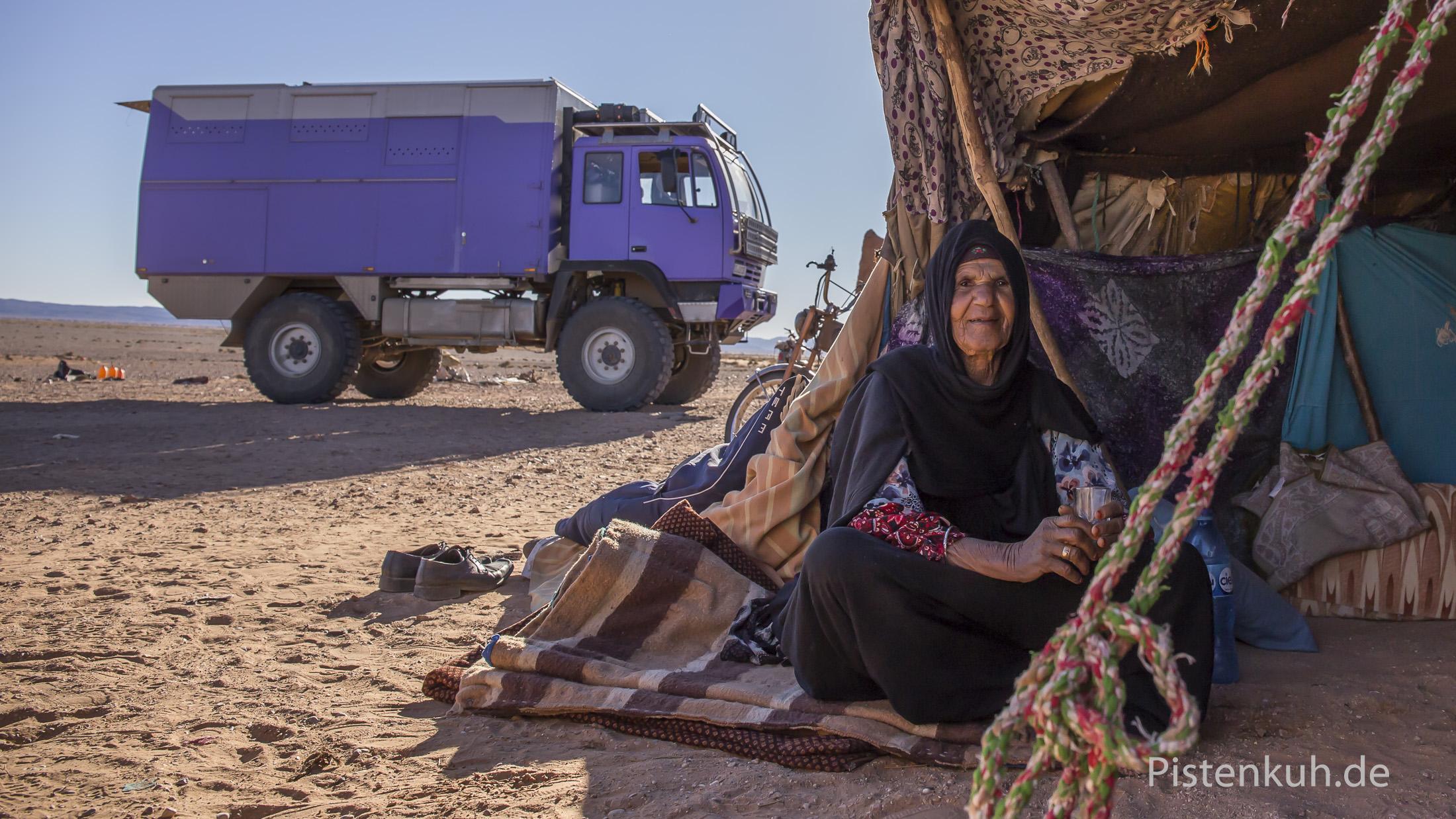 Bei Nomaden im Süden Marokkos