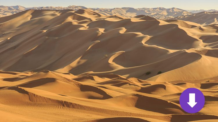 Wüste Rub al Khali in Oman
