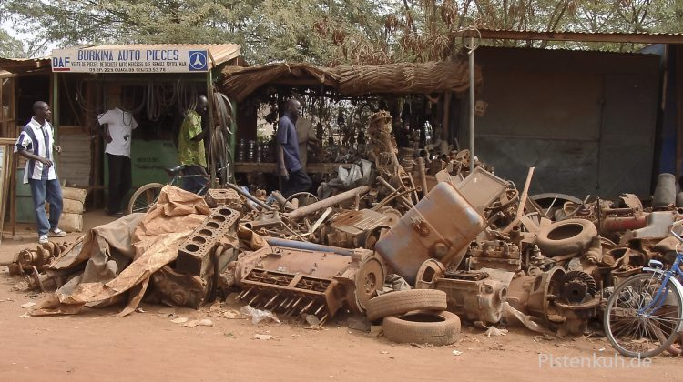 Autoteile in Burkina Faso