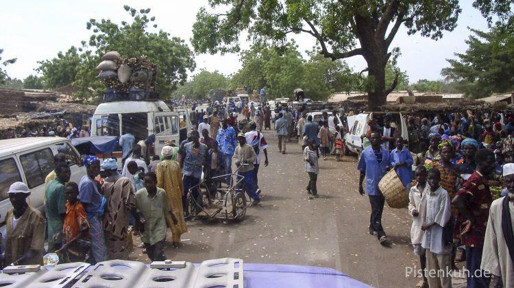 Auf dem Weg nach Bamako