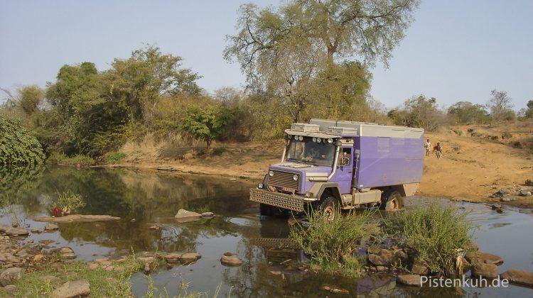 Buschpiste in Mali