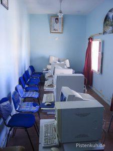 Internetcafe in Marokko