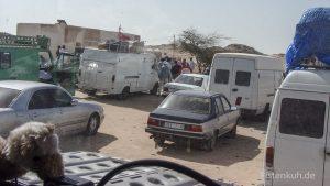 Ausreise aus Marokko an der mauretanischen Grenze