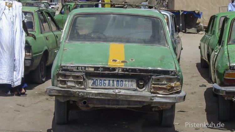 Taxi in Mauretanien