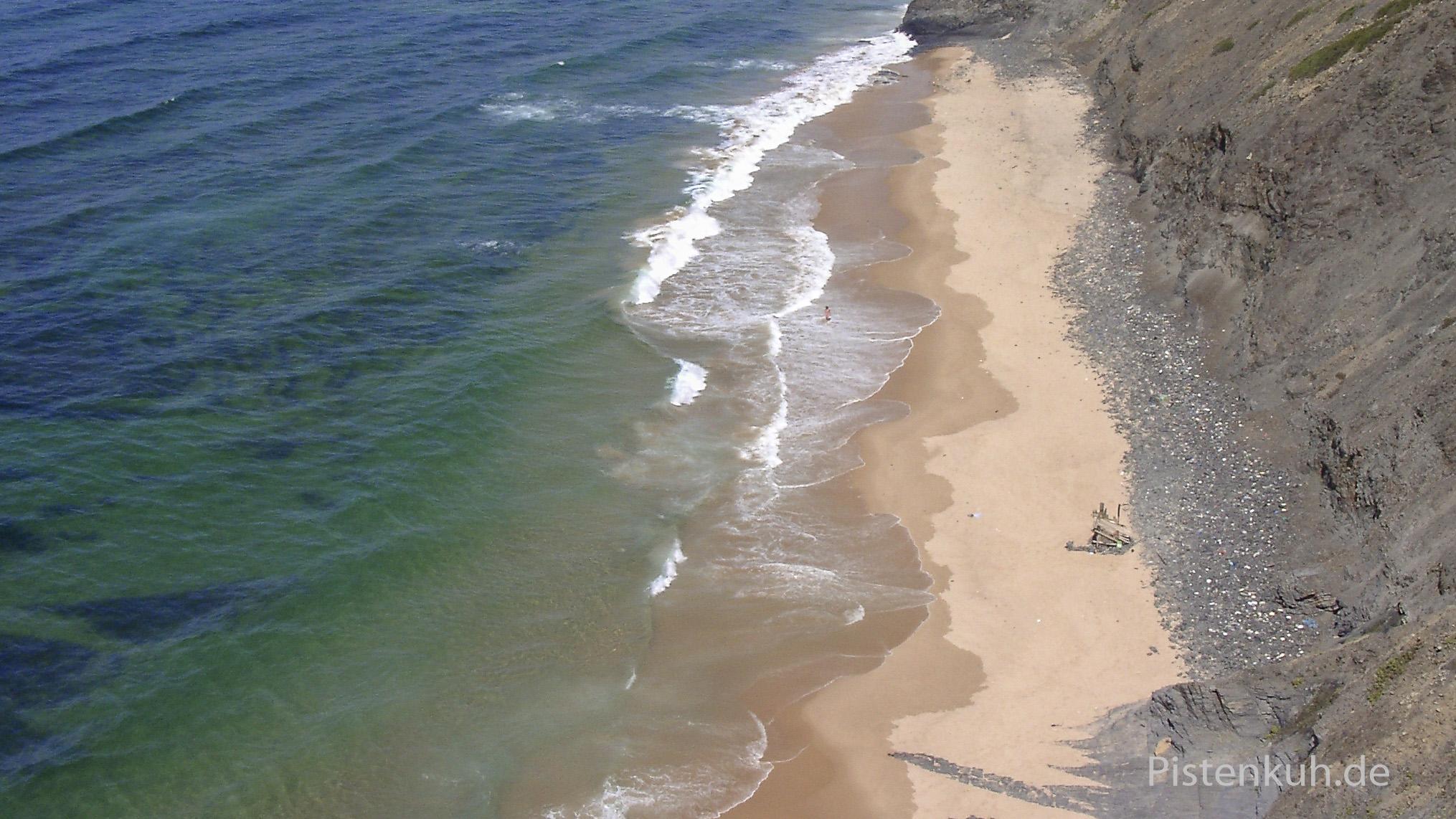 Einsame Strände in Portugal findet man leicht