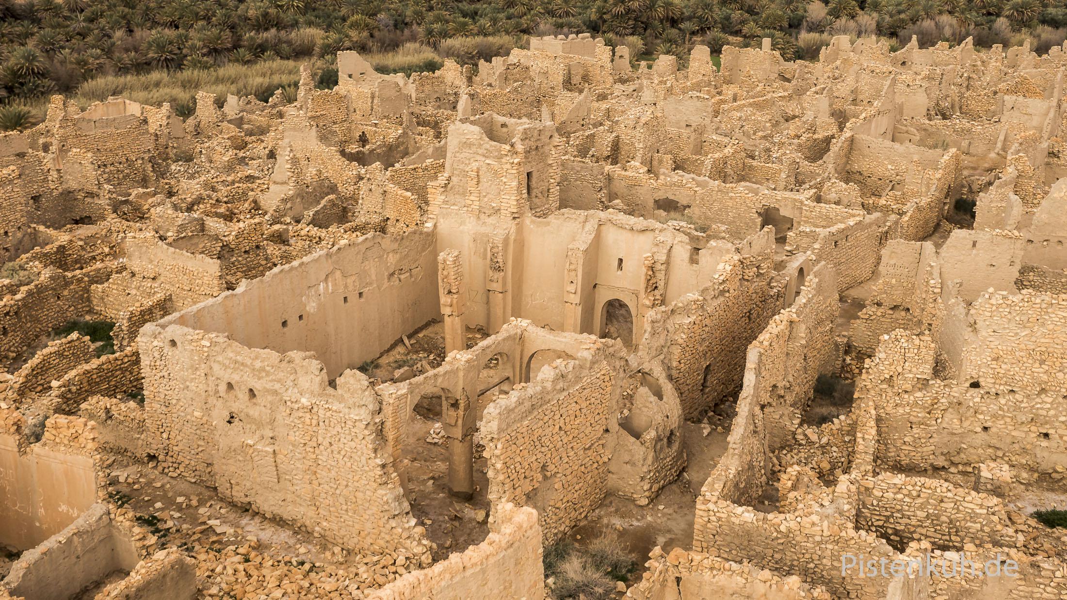 Die Moschee von Old Meski in Marokko.