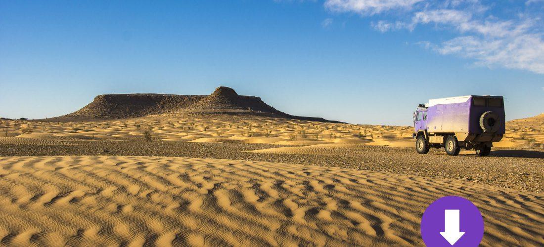 Tunesien – GPS-Track Tem Baine
