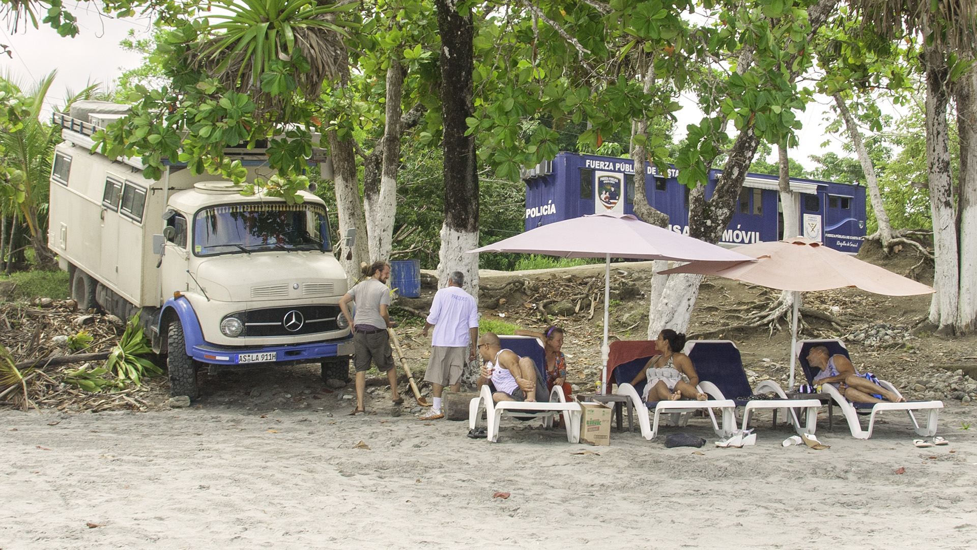 Mercedes Rundhauber in Costa Rica