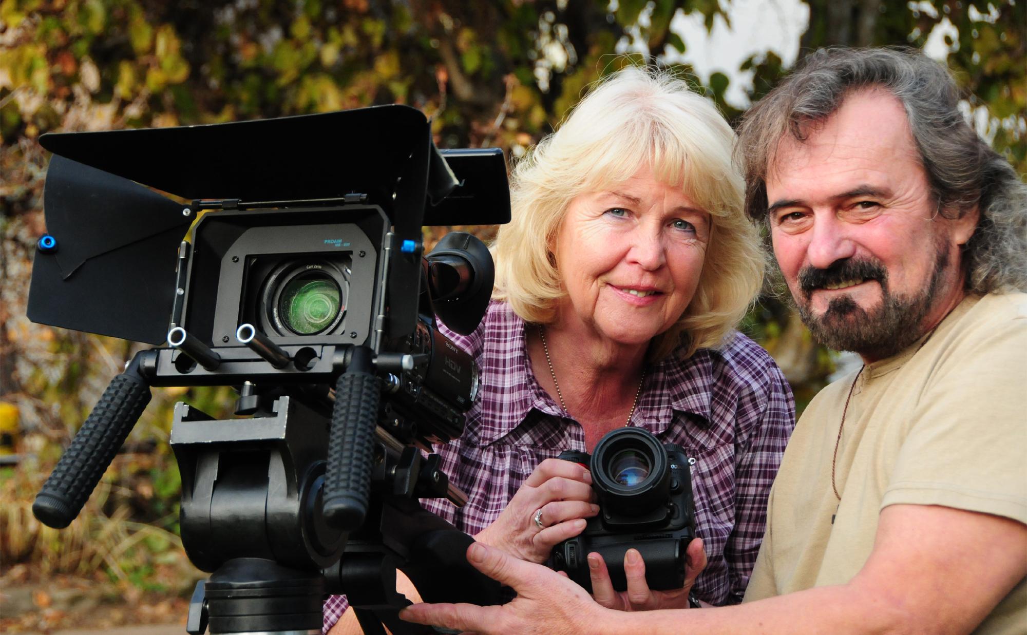 Rita und Freddy Reck, mit der Kamera um die Welt