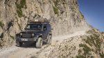 Jeep unterwegs in den Alpen