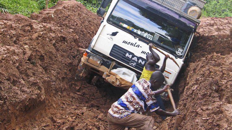 Schlammloch Kamerun