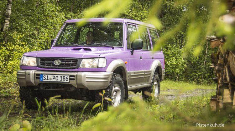 Galloper in violett