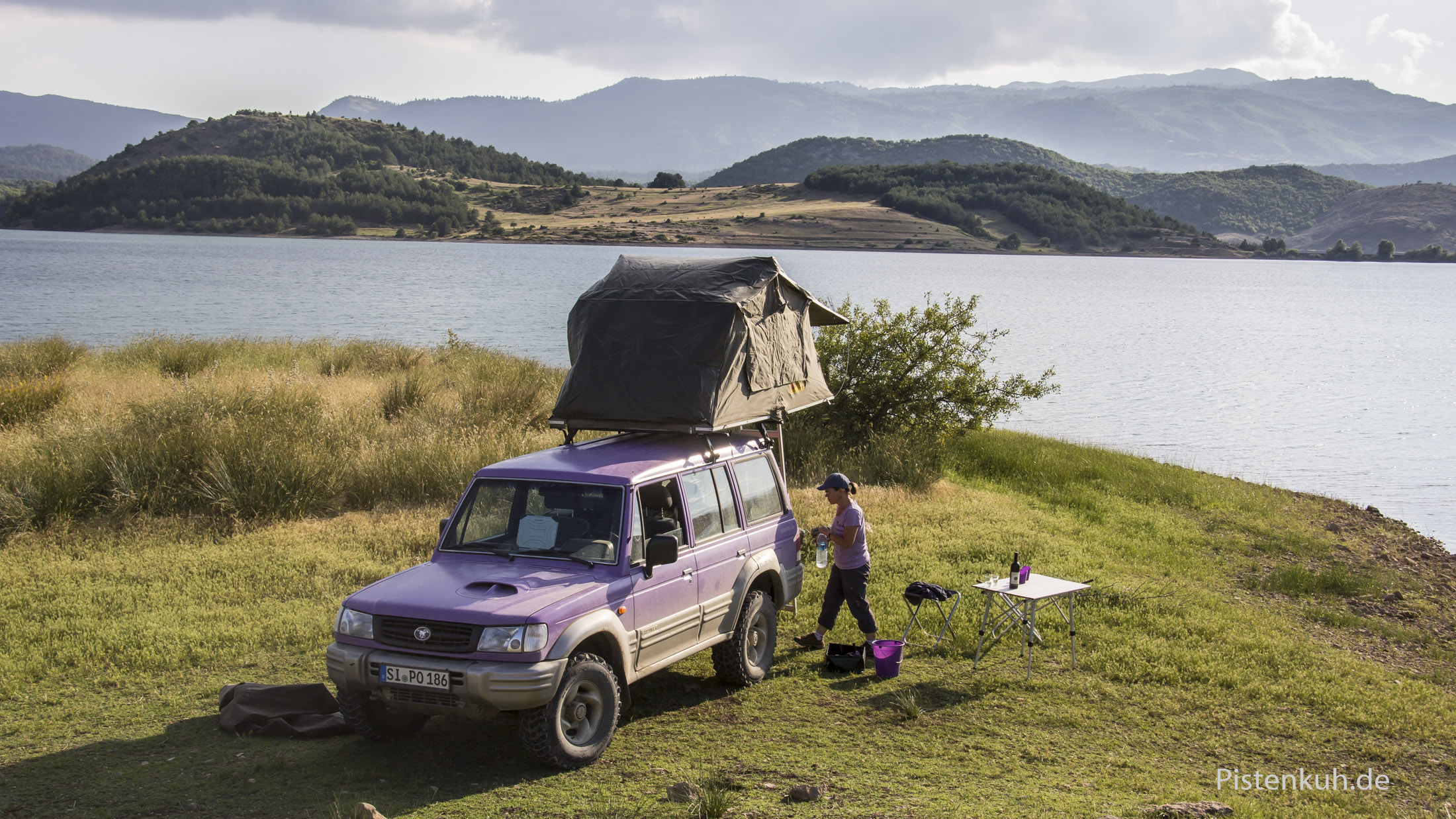 Freies campen ist problemlos möglich