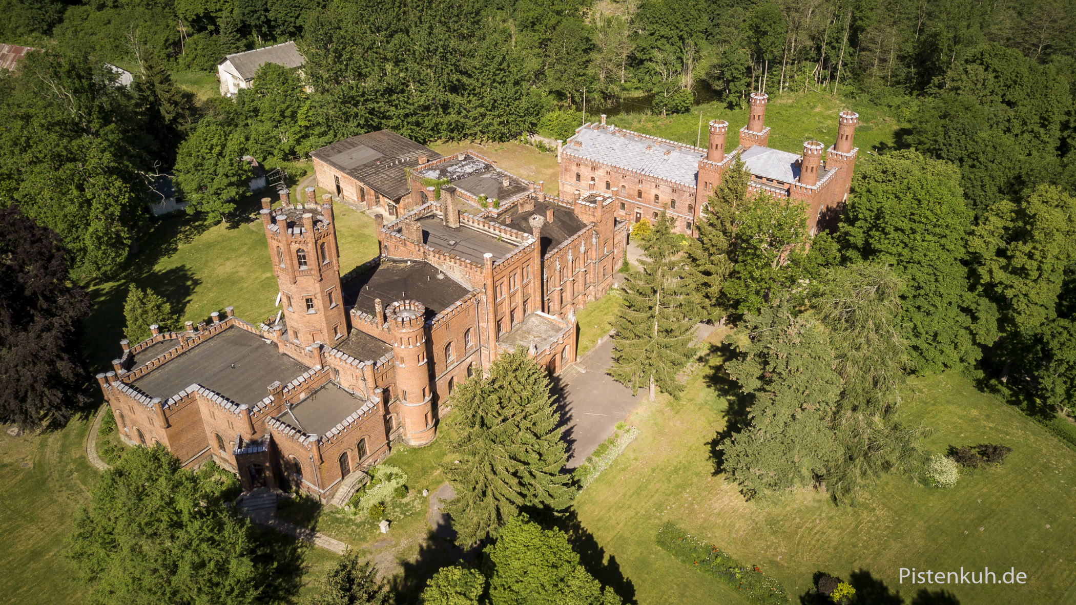 Schloss Sorquitten in Polen