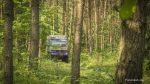 Auf schmalen Wegen durch den Wald.