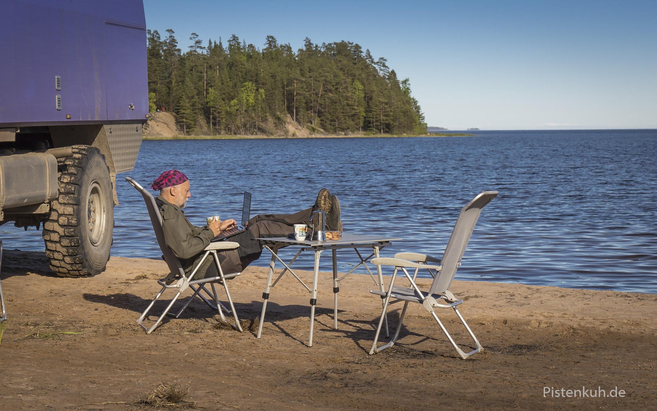 Ladogasee , der größte See Europas