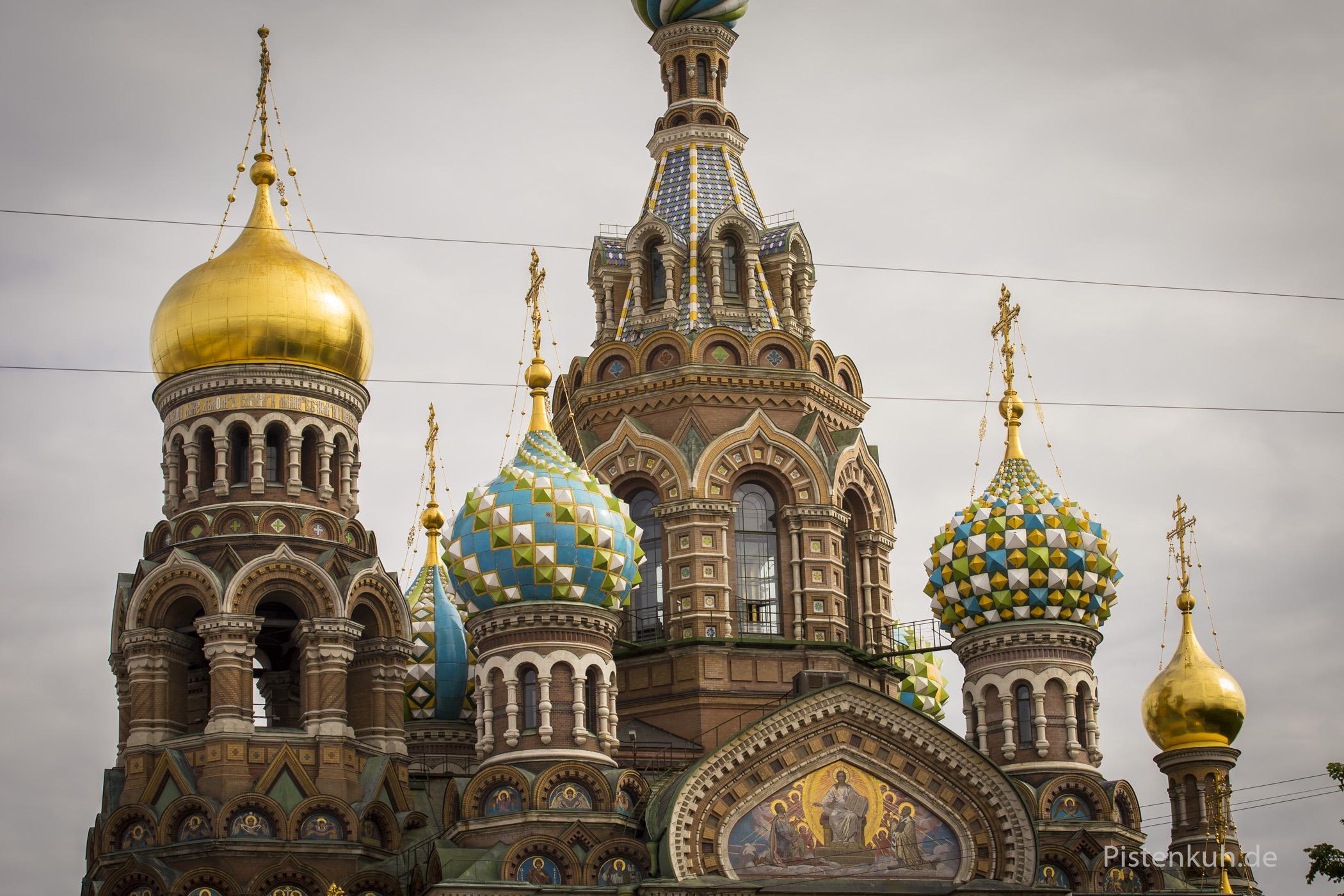 Saint Petersburg: Die Auferstehungskirche