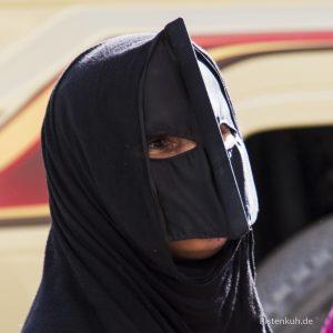 Eine Frau in Oman
