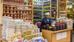 Weihrauchhandel in Salalah, die Geschäfte laufen schlecht.