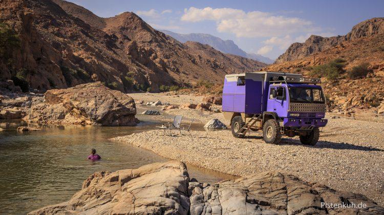 Ein Traumplatz für 1001 Nacht in Oman