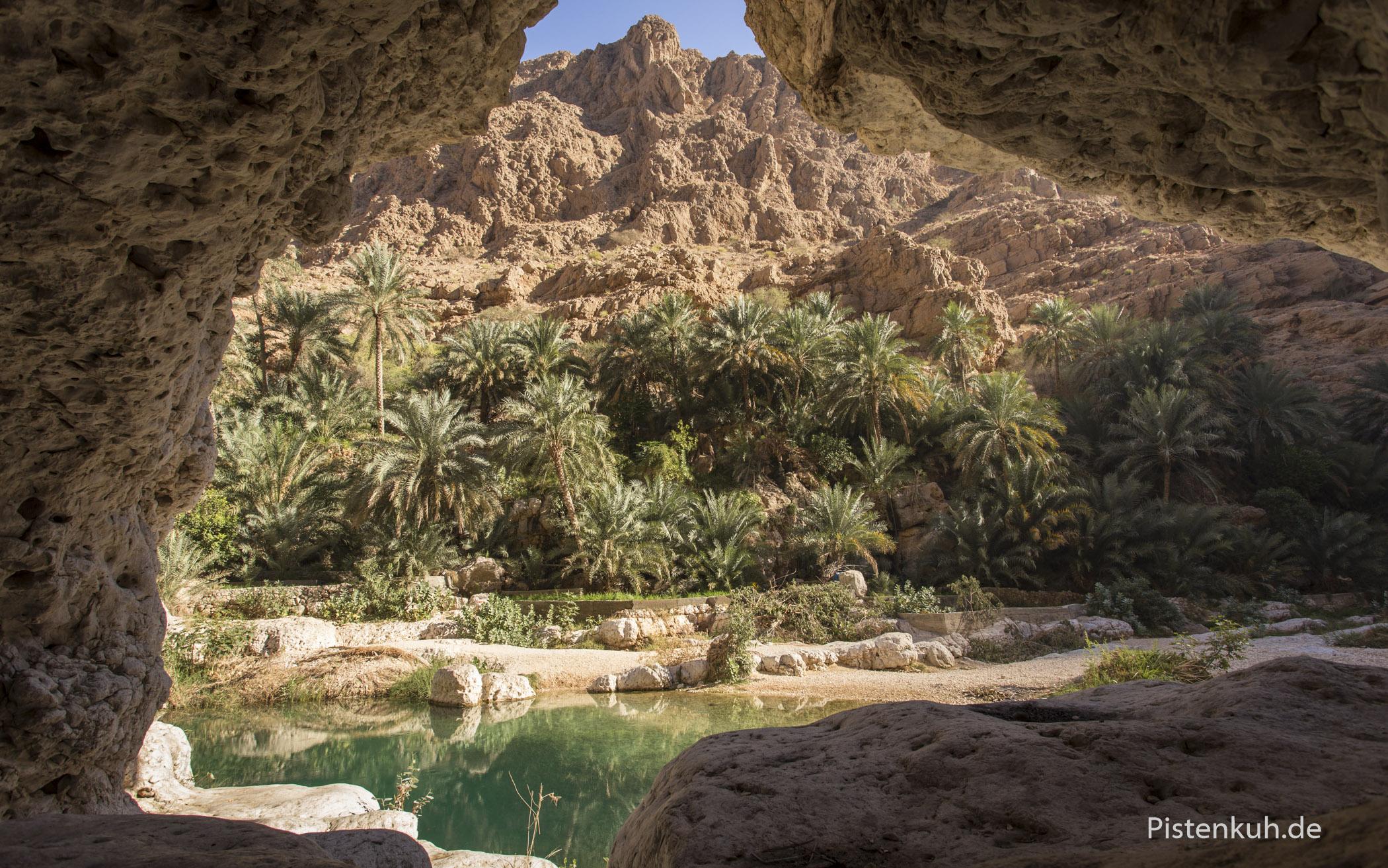 Sehr gute Fotomotive finden sich in den Wadis.