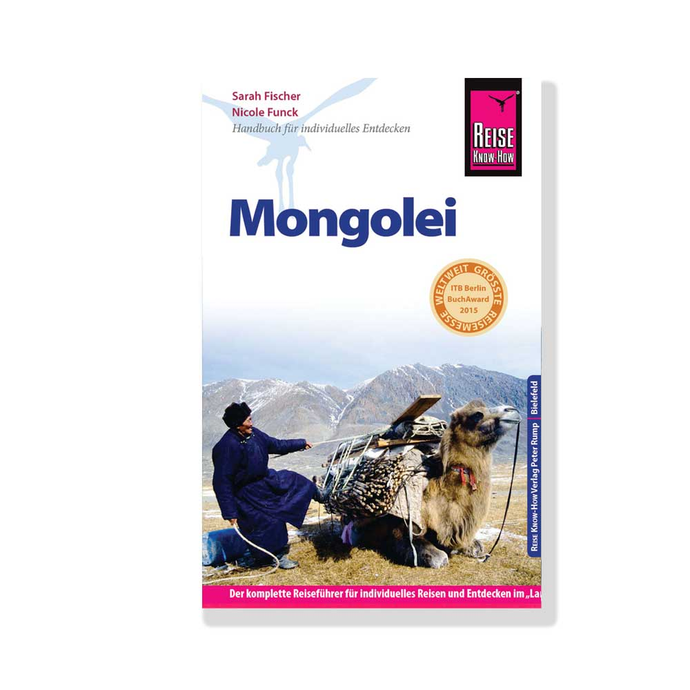 RKH-Reiseführer Mongolei