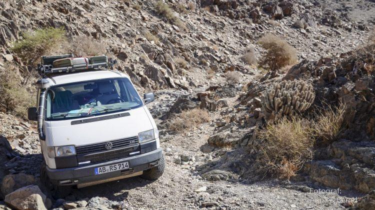 VW-Syncro in Marokko