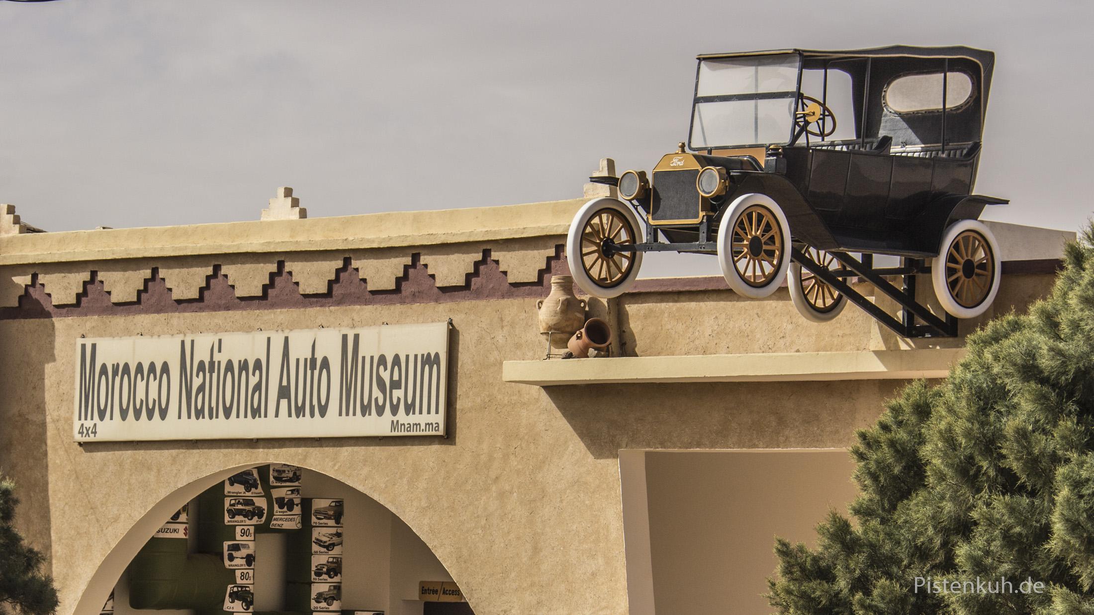 Automuseum in Merzouga, Marokko